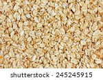 rolled oats background | Shutterstock . vector #245245915