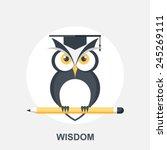 wisdom | Shutterstock .eps vector #245269111
