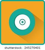 vector cd or dvd icon  vector...