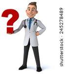 fun doctor | Shutterstock . vector #245278489