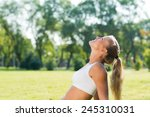 young attractive woman of... | Shutterstock . vector #245310031