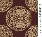 pattern in the style of baroque.... | Shutterstock .eps vector #245328811