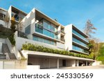 modern architecture  building ... | Shutterstock . vector #245330569