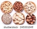 mix nuts   Shutterstock . vector #245331049