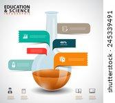 creative concept infographics... | Shutterstock .eps vector #245339491