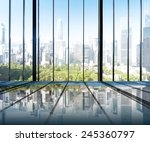 urban scene skyline morning... | Shutterstock . vector #245360797