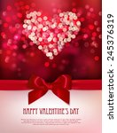 happy valentine's day card.... | Shutterstock .eps vector #245376319