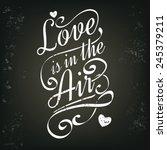 Chalkboard Card Concept. Love...