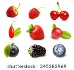 Different Type Of Berry Fruits...