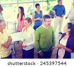 Group Of Business People In The ...