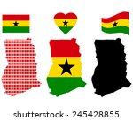 ghana map different types and...