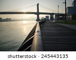 Sunrise Over The Manhattan...