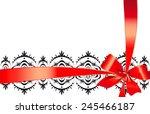 bows design | Shutterstock . vector #245466187