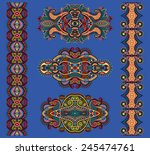 ornamental floral adornment in...