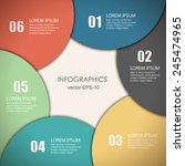 vector illustration infographic ...   Shutterstock .eps vector #245474965