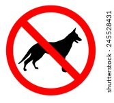 no dogs sign icon great for any ...
