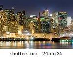 Manhattan\'s West Side View...