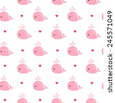 cute background with  cartoon... | Shutterstock .eps vector #245571049