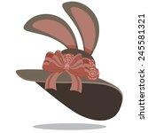 Easter Bonnet Stock Illustration