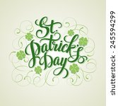 St. Patrick's Day Greeting....