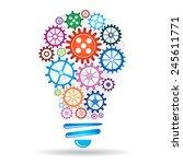 teamwork concept | Shutterstock .eps vector #245611771