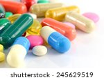 Colorful Of Oral Medications O...