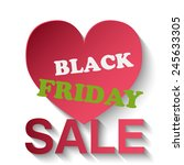 black friday sale | Shutterstock .eps vector #245633305