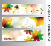 floral art   Shutterstock .eps vector #245645401
