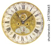 genuine seventeenth century... | Shutterstock . vector #245708665