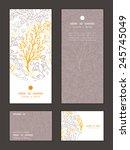 vector magical floral vertical...   Shutterstock .eps vector #245745049