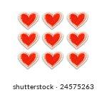 love card. stylized love...   Shutterstock . vector #24575263
