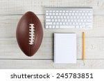 fantasy football draft still... | Shutterstock . vector #245783851