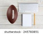 fantasy football draft still... | Shutterstock . vector #245783851