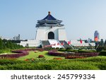 Chiang kai shek memorial hall...