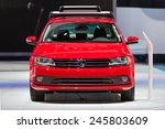 detroit   january 13  a... | Shutterstock . vector #245803609