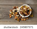 Nuts And Dried Fruits In A...