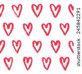 vector seamless background of... | Shutterstock .eps vector #245842291