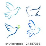 vector illustration of flying... | Shutterstock .eps vector #24587398