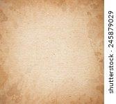 realistic brown cardboard... | Shutterstock .eps vector #245879029
