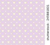 polka dots seamless pattern... | Shutterstock .eps vector #245881831