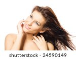 close up studio portrait of a... | Shutterstock . vector #24590149