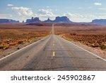 highway in utah | Shutterstock . vector #245902867