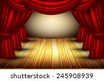 theater stage | Shutterstock .eps vector #245908939