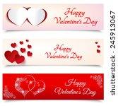 happy valentines day. 14... | Shutterstock .eps vector #245913067