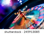 High contrast image of casino...