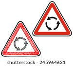 Triangle Traffic Sign For...