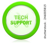 technical support icon   | Shutterstock . vector #246005815