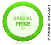 special price icon   | Shutterstock . vector #246008245