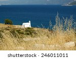 Small White Church On The...