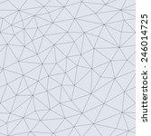 abstract triangular mesh.... | Shutterstock .eps vector #246014725